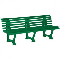 Banc vert plastique 200 cm A066895 NEUF déclassé