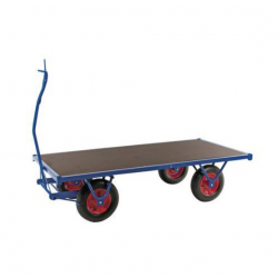 Chariot charge lourde roue pneumatique -  3M - force 1500 kg  A141144...