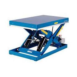 Table élévatrice fixe extraplate - capacité 2000 kg  avec groupe hydraulique...
