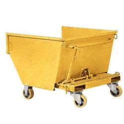 Benne chariot à copeaux autobasculante mobile  200 L  A029951 GSP02120 NEUVE...