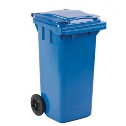 Conteneur / Poubelle bleue 120 L A133947 NEUVE déclassée