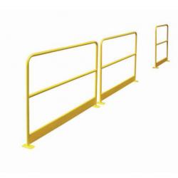 Barrière de protection avec plinthes 2 m A030829 NEUVE déclassée