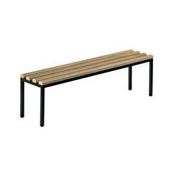 Banc de vestiaire bois acier 100 cm A013854 NEUF déclassé