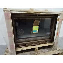 Insert à bois 14 kW peint cuivre FRANCO BELGE Ubinas 6341342X NEUF