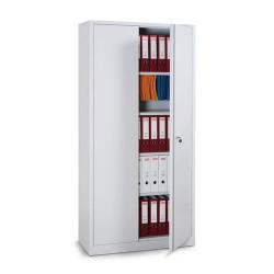 Armoire de bureau haute monobloc compacte portes battantes H 195cm A032506 NEUVE