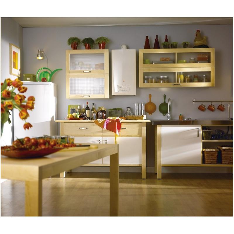 chaudi re murale gaz basse temp rature avec production eau. Black Bedroom Furniture Sets. Home Design Ideas