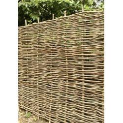 4 panneaux de clôture en noisetier tressé L 180 x H 200 cm NEUF déclassé