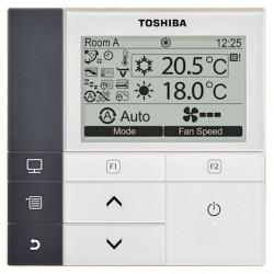 Commande filaire avec horloge intégrée pour matériel de climatisation TOSHIBA...