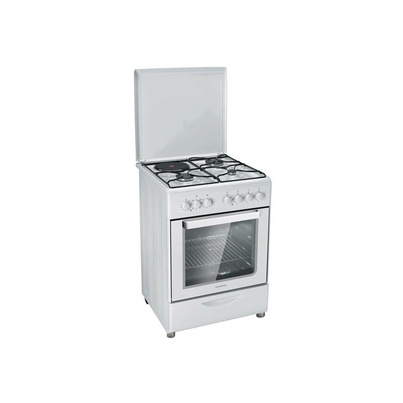 nouveau style 98857 464d4 Cuisinière - gazinière mixte pose libre 4 feux ROSIERES RMC6321RB NEUVE  déclassée