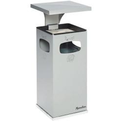 Cendrier et poubelle 38 litres usage intérieur et extérieur MANUTAN NEUF