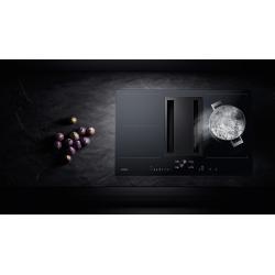 Table de cuisson Flex Induction avec système de ventilation intégré 4 foyers...