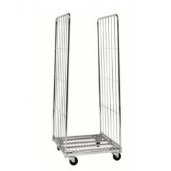 Chariot - Roll-conteneur 2 ridelles L.720 x l.800 - Capacité 400 kg A240562...