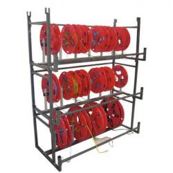 Rayonnage distributeur pour couronnes et bobines L120 cm BOBBI RACK A008666 NEUF