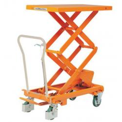 Table élévatrice hydraulique mobile - force 300 kg BISHAMON A029088 NEUVE...