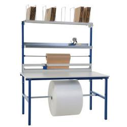 Table d'emballage et de préparation modulaire 160 cm avec son...