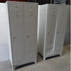 Vestiaire monobloc industrie salissante 2 cases 180x80x50 NEUVE déclassée