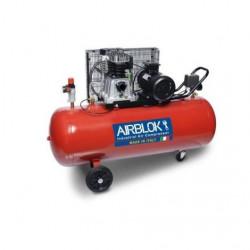 Compresseur d'air monocylindre 200 L monophasé 3 CV 10 bars AIRBLOK NEUF...