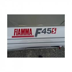 Store 3.50 m camping car FIAMMA F45 S toile grise NEUF déclassé