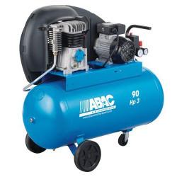Compresseur bicylindre monophasé 90 litres 2 cv ABAC A29 90 CM2 NEUF déclassé