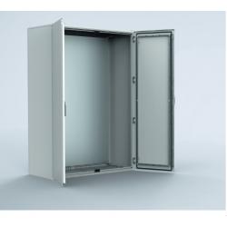 Armoire electrique en acier double porte 180 x 120 cm ELDON MKD18124RS NEUVE...