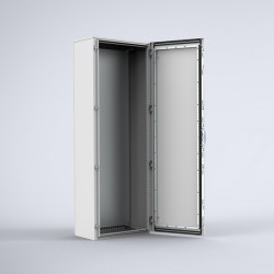 Armoire electrique  en acier 1 porte   180 x 60 cm ELDON MKS18064R5 NEUVE...