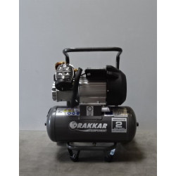 Compresseur bicylindre vertical monophasé 24 litres 3,5 cv DRAKKAR V204702G...