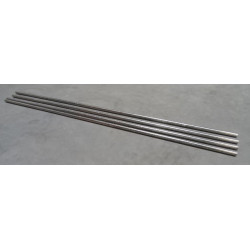 Lot de 4 barres rondes en acier inoxydables UGIMA 4542 Longueur 2899 mm...