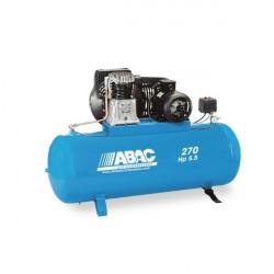 Compresseur d'air à piston bi - cylindres  270 L triphasé 5.5 cv ABAC NEUF...