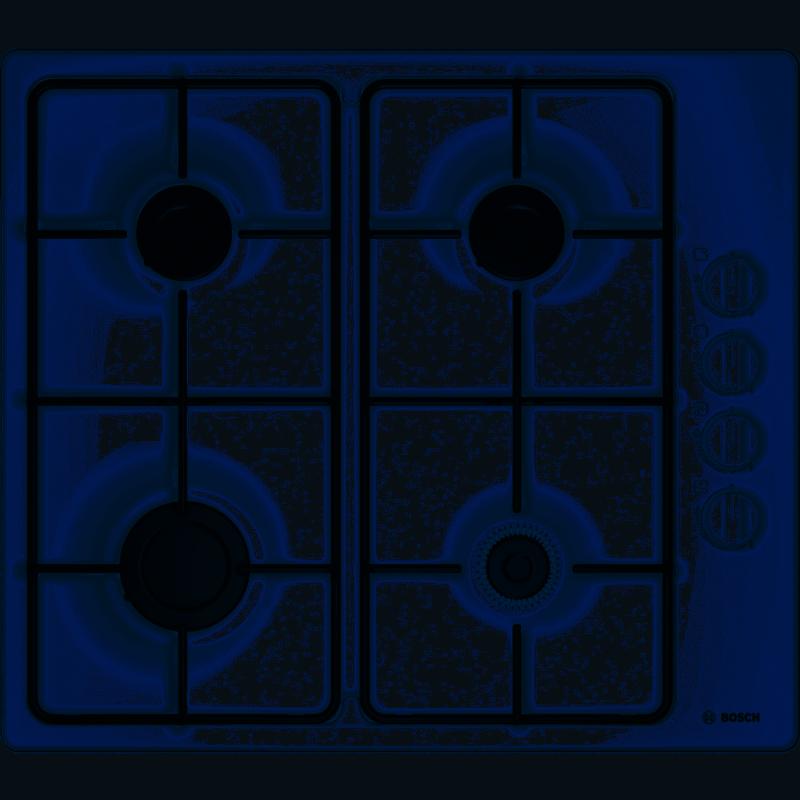Table Plaque De Cuisson Gaz 4 Feux Bosch Pbp6b2b80 Neuve
