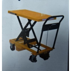 Table élévatrice manuelle  - Capacité  300 kg  - A047452 NEUVE déclassée