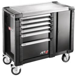 Servante - etabli mobile d'atelier en aluminium  6 tiroirs FACOM Jet t6 gm3pb...