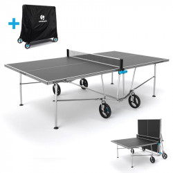 Table de ping pong - Tennis de table ARTENGO PPT 500 OUTDOOR avec sa housse...