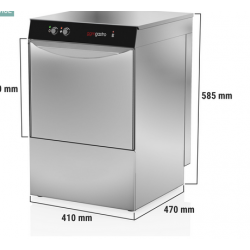Lave vaiselle - lave verres 11L   2.77 kW GGM GASTRO  GLS 210 M NEUF