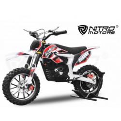 Moto électrique Guépard Deluxe 500W 24V rouge NITRO MOTORS NEUVE déclassée