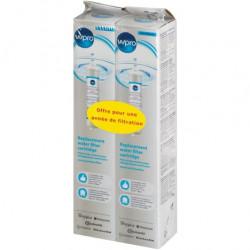 Lot de 2 cartouches filtrantes à eau pour réfrigérateurs américains WPRO...