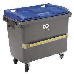 Conteneur mobile plastique 770 litres SULO A022706 NEUF déclassé