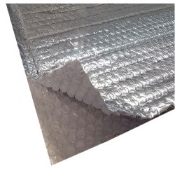 Rouleau de 31.25 m² isolant mince thermo reflecteur pour toiture et mur 1.25m...