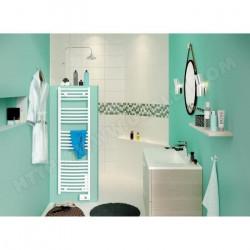 Radiateur sèche-serviettes électrique digital 500 W SAUTER Goreli 240051 NEUF...