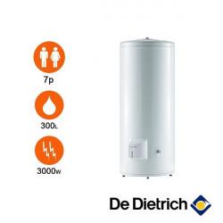 Chauffe eau électrique sur socle stéatite monophasé 300 litres DE DIETRICH...