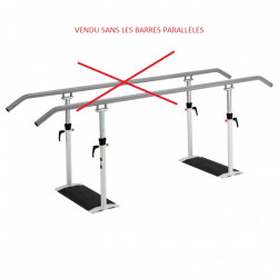 Rampes et support télescopiques sans ses barres parallèles  EASY CLICK DA 250...