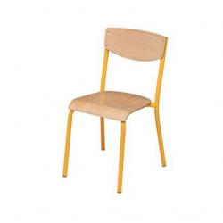 Lot de 10 chaises de collectivité adulte NEUF