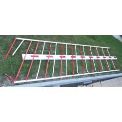 Lisse Barrière levante de sécurité Longueur 5 mètres Hauteur 1.70 m  LA...