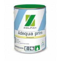 Pot de peinture blanc mat semi-épaisse mur ou plafond de 16L ZOLPAN Adequa...