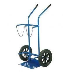 Diable chariot 2 porte bouteilles roues pleines  NEUF déclassé