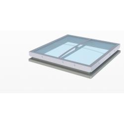Lanterneau  Fenêtre de toit  110 /110  double dôme  bombé en acrylique...