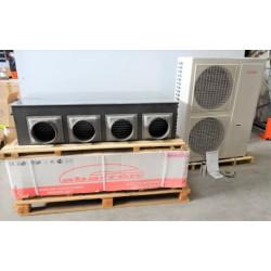 Ensemble de climatisation  gainable  inverter triphasé 14 KW  GABARRON  NEUF