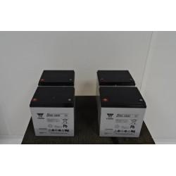 Batterie 12 V 55 ah YUASA SWL1800 NEUVE