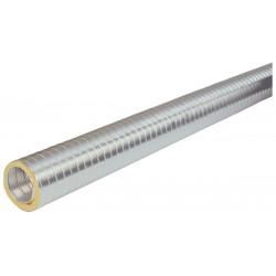 Conduit semi-rigide calorifuge diamètre 160 mm longueur 2 M pour chauffe-eau...
