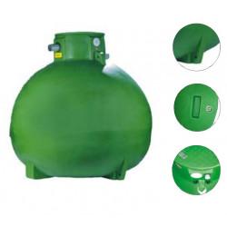 Cuve à eau 3000 litres à enterrer utilisation jardin ET03000K modèle...