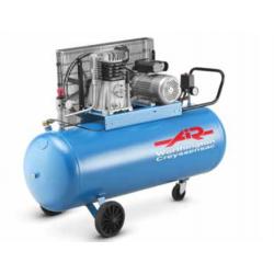 Compresseur à entrainement courroie 90 L  triphasé 23.6 m3/h  3 cv AARIAC...